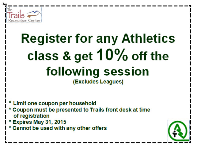 Athletics Coupon - May 2015