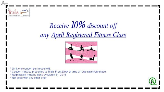 Fitness Coupon - March 2015